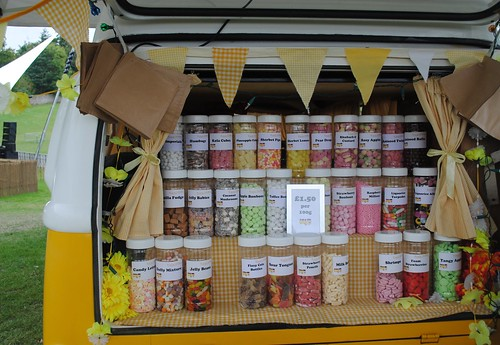 Candy Camper at Vintage at Goodwood