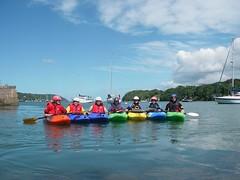 Sunny Kayaking