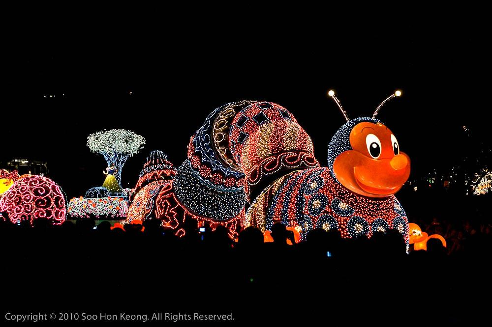 Night Parade @ Tokyo Disneyland, Tokyo, Japan