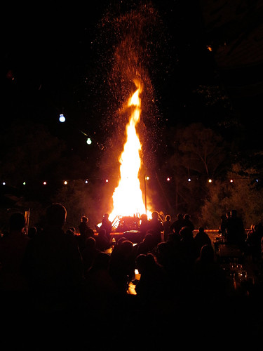 Feuersäule@Fischerfest