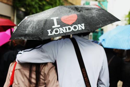 I Love London Rain 2