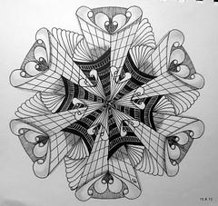 New York New York (Jo in NZ) Tags: pen ink drawing line doodle zentangle nzjo zendoodle zendala