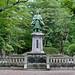 Akita Senshu Park - Yoshitaka Satake bronze statue (秋田・千秋公園・佐竹義堯広銅像)
