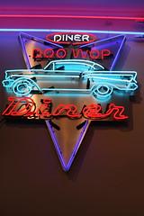 Doo Wop Diner (Read2me) Tags: car sign neon neonlights gamewinner challengeyouwinner friendlychallenges thechallengefactory tcfunanimous herowinner superherochallengewinner storybookwinner storybookchallengegroupotr pregamewinner