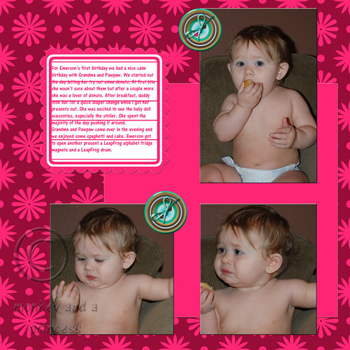 emerson first birthday page 1 with copyright