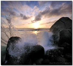 Clifton Splashdown (Panorama Paul) Tags: sunset bravo cliftonbeach nohdr sigmalenses nikfilters winter2010 vertorama nikond300 wwwpaulbruinscoza paulbruinsphotography