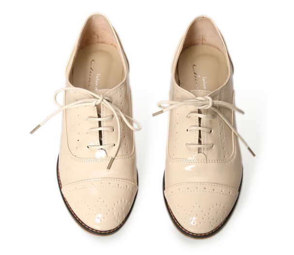 wifky lace up patent loafer 2