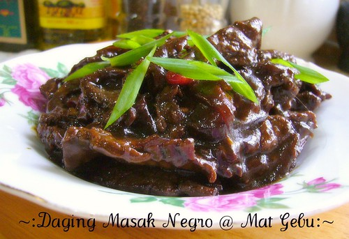 Daging Masak Negro
