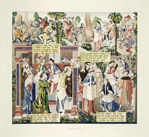 018-Tapiceria de Rheims-Les anciennes tapisseries historiées…1838- Achille Jubinal