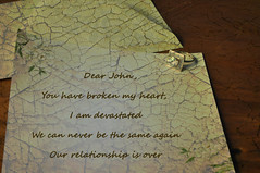 How can you mend a broken heart? (novopix) Tags: handwriting sad engagementring note relationship letter goodbye brokenheart breakup loveletter dearjohn devastated