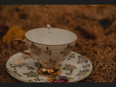 How to make tea ( tutorial video) ( explore!) (de l'autre ct de la lune) Tags: old music cup milk video tea text sugar howto font teabag tutorial cupoftea stopmotion englishtea breakfasttea howtomaketea