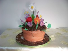 bloempot taart (gert&silvana) Tags: cake flowerpot taart bloempot