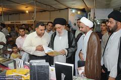 زيارة السيد سامي البدري الى جناح العتبة الحسينية المقدسة