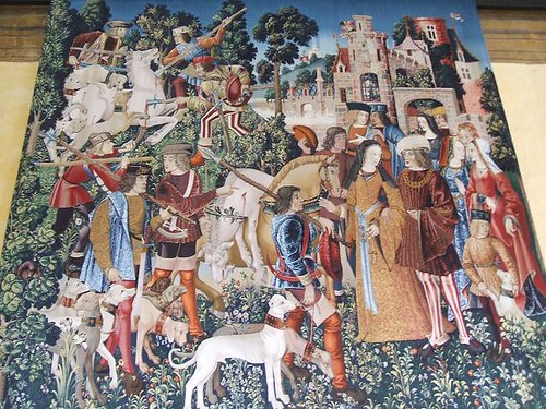 Hunt for the Unicorn tapestry