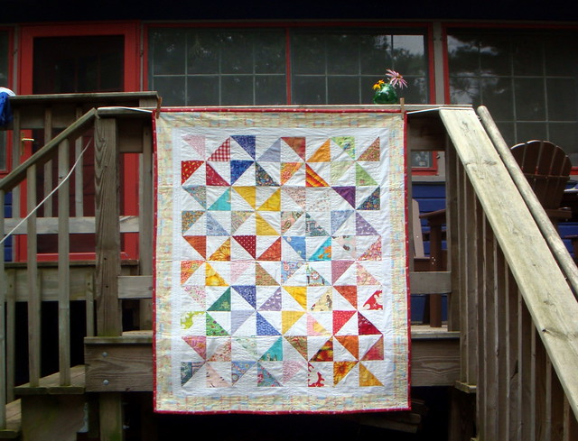 Another Pinwheel Quilt