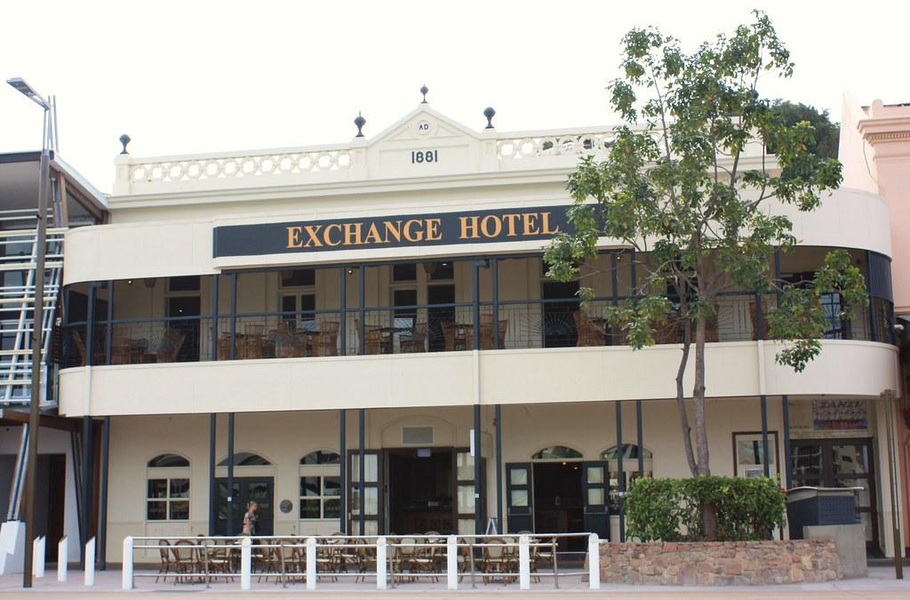 Exchange Hotel, Flinders Street, Townsville.
