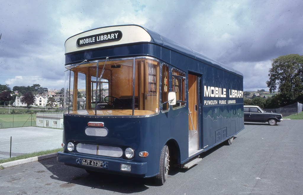 Plymouth Public Libraries Mobile Library, 1967-68