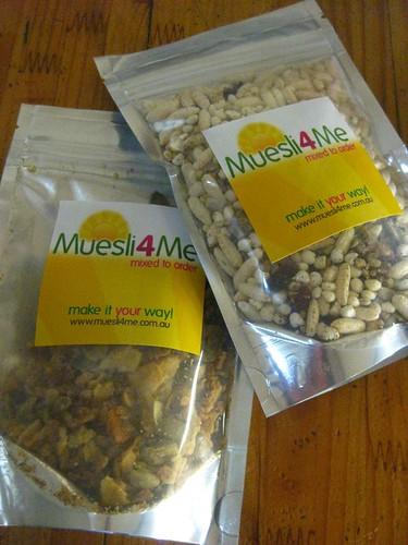 Muesli4me samples