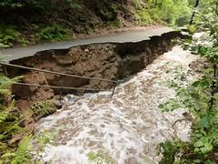 Überschwemmung in der Sächsischen Schweiz