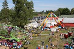 Amusement Rides from the Ferris Wheel