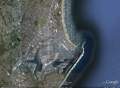 durban (close) @ google earth