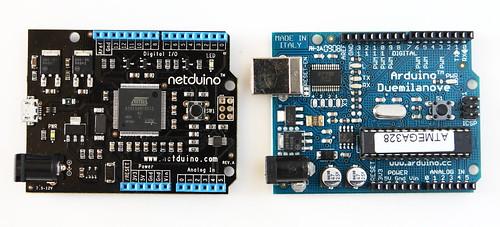 Netduino and Arduino