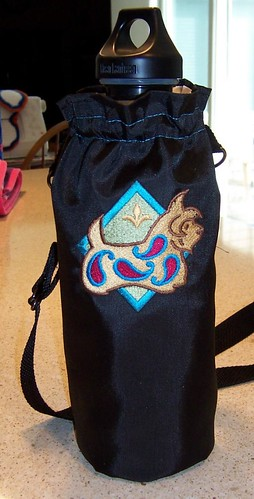 Paisley Westie bottle carrier