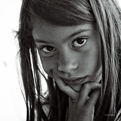 what do you  want ? (blazouf) Tags: portrait blackandwhite bw white black face blackwhite child noiretblanc visage blazouf noirblanc gf1 blackandwhiteportrait outdoorportrait naturallightportrait