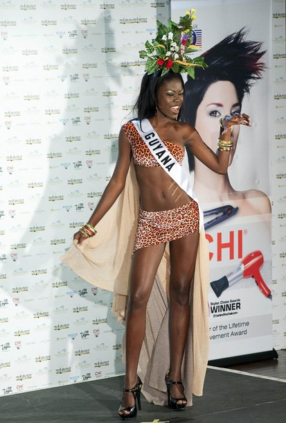 National Costume of Miss Guyana