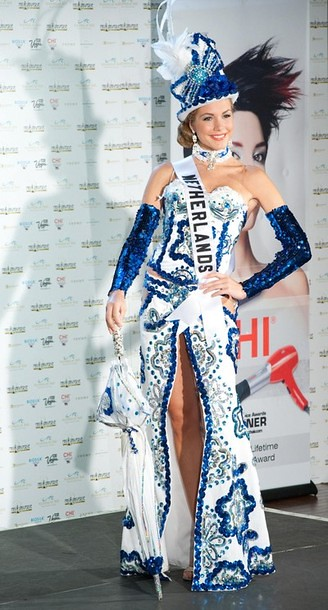 National Costume of Miss Netherlands Holland