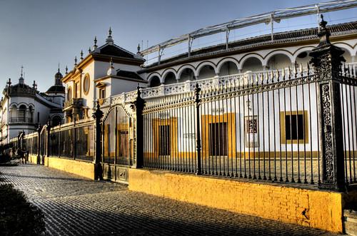 Seville. La Maestranza. Sevilla.