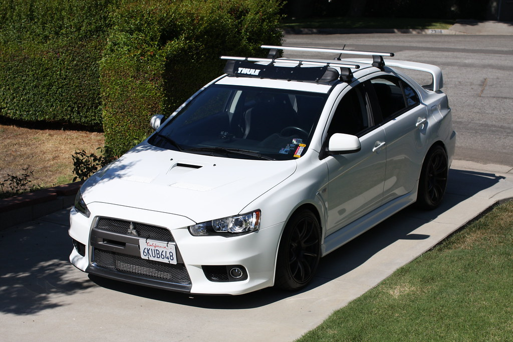 Wonderful New Roof Rack On My X   Page 3   EvoXForums.com   Mitsubishi Lancer  Evolution X Forums