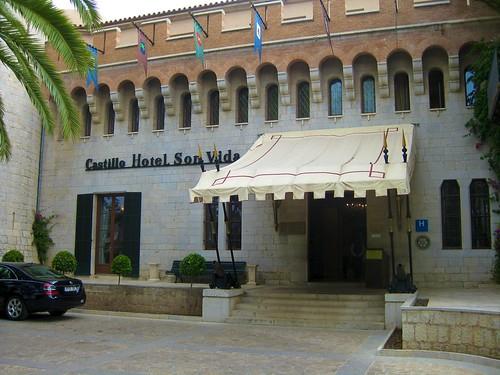 Castillo Hotel Son Vida - Entrada principal - Palma de Mallorca