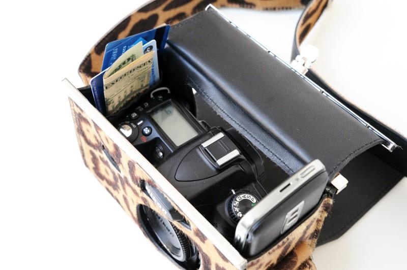 Luxirare fashion Nikon D90 camera bag 2