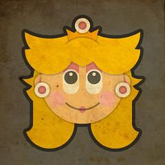 Todos Personagens de Mario Bros Cartoonizado Peach