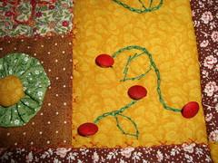 """Atelier Feltro Flor  toda! (""""Feltro Flor"""") Tags: quilt patchwork bolsa bolsas aula molde tecido bordado costura necessaire"""