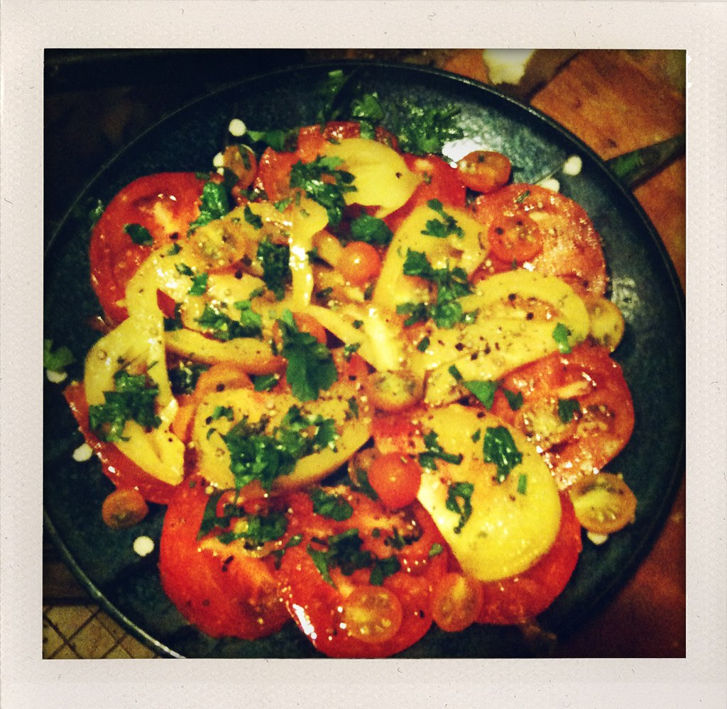 Composed Salad - Tomatoes