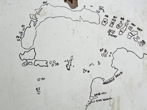 Kadavu dive map