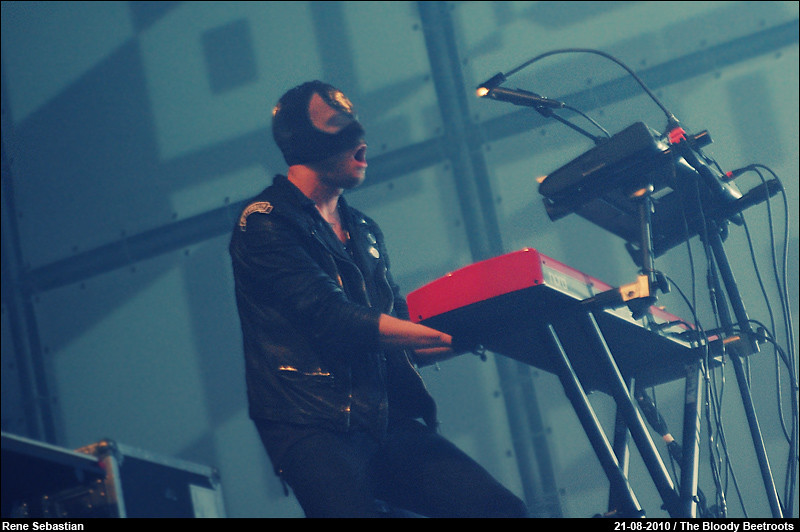 The Bloody Beetroots @ Lowlands 2010