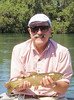 Local Guide Fred Gordon's guests enjoy a fine Lower Sacramento River Rainbow