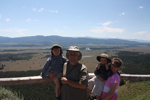 The Hendersons on Mt Signal