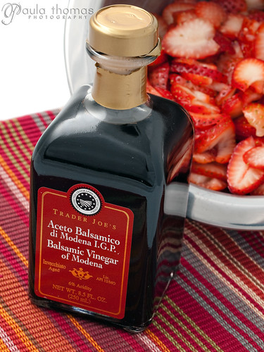 Balsamic and Strawberries