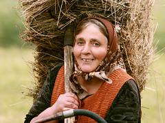 (AIeksandra) Tags: portrait smile rural eyes hands social hay balkans realism biodynamic