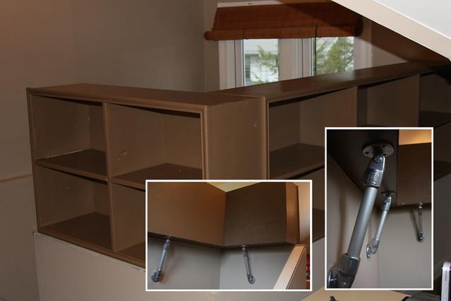 Space Saving Stair Rail Shelf - Comp