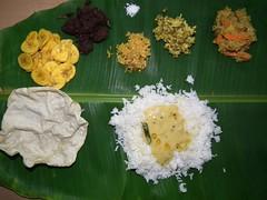 onam sadya (AnoopRED) Tags: food fuji onam sadhya sadya hs10 onasadya onamfeast keralameal malayalikkoottam keralakitchen
