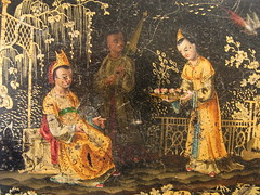 Ghost in Cathay (Sweetington) Tags: vintage box antique painted ghost chinoiserie cathay