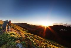 南投 合歡山~石門山日出之美