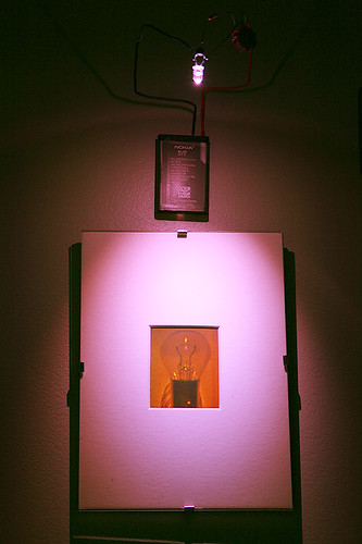 Joule Thief Picture Light