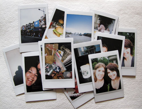 Instants from London
