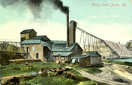 A typical mining scene around Joplin.